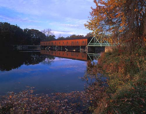 CB3 - Harpersfield Covered Bridge