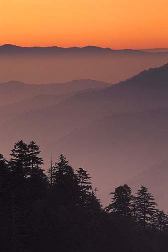 L3 - Sunset-Great Smoky Mountains