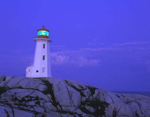 LH4 - Peggy's Cove Lighthouse