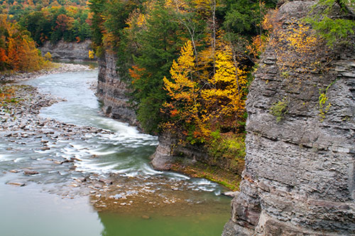 Genesee River Letchworth State Park