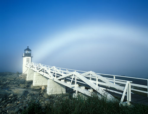 M3 - Marshall Point Light & Fogbow, Maine