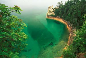 MSU-1 Pictured Rocks National Lake Shore, Michigan