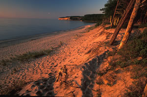 MSU-4 Pictured Rocks National Lake Shore, Michigan
