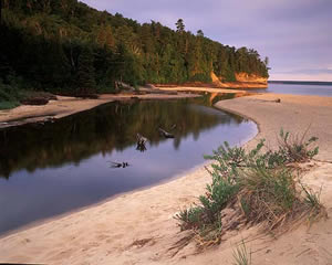 MSU-6 Pictured Rocks National Lake Shore, Michigan