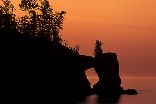 MNS-1 Lake Stack Arch, Minnesota North Shore