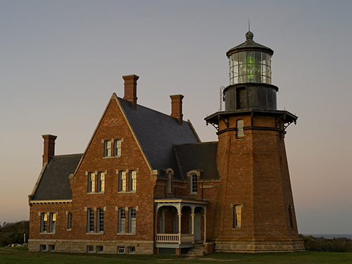 Block Island Lighthouse in Rhode Island