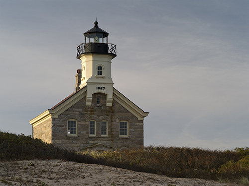 Block Island North Lighthouse in Rhode Island