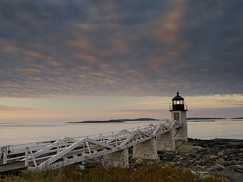 Marshall Point Light in Port Clyde Maine