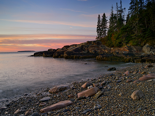 Little Hunter's Beach Acadia NP Maine