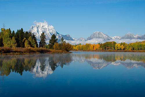 GRT5 Mt. Moran Reflection Grand Teton National Park