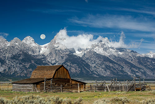 GRT6 Moulton Barn Grand Teton National Park