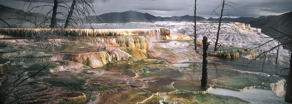 WPAN2 Minerva Terrace Mammoth Hot Springs Yellowstone NP WY
