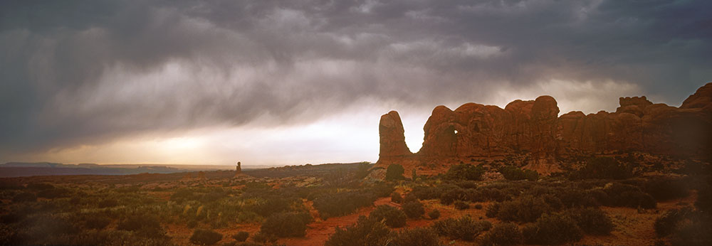 WPAN8 Storm Clouds Arches National Park UT